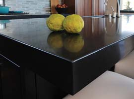Tao Granite Countertop with Standard Eased Edge Profile